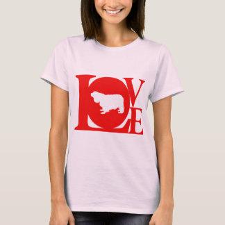 T-shirt Épagneul cavalier du Roi Charles