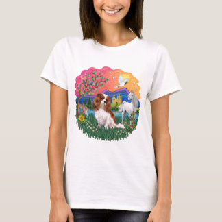 T-shirt Épagneul cavalier du Roi Charles (Blenheim)