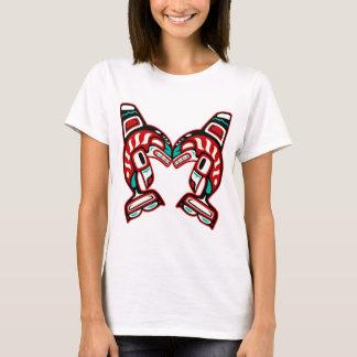 T-shirt Épaulards indiens de Haida