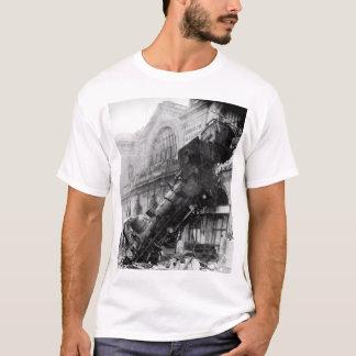 T-shirt Épave de train chez Montparnasse, 1895