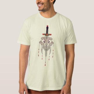 T-shirt Épée dans le crâne