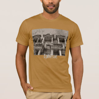 T-shirt Ephesus, Turquie - bibliothèque de Celsus