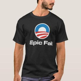 T-shirt épique d'échouer d'Obama