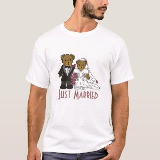 T-shirt Épousant l'ours, juste T des hommes mariés