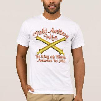 T-shirt Épouse d'artillerie de campagne
