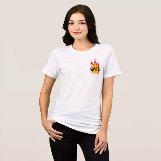 T-shirt Épouse en flammes