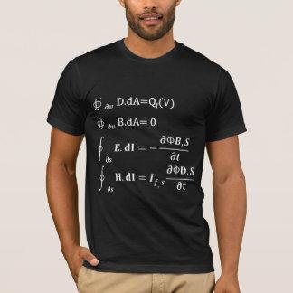 T-shirt équation d'intégration de maxwell