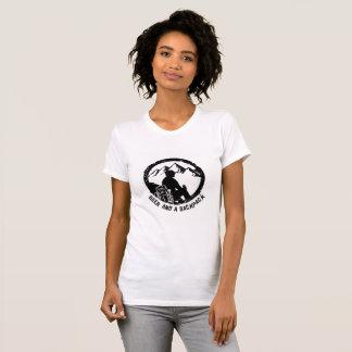 T-shirt Équipage alternatif de l'habillement des femmes de