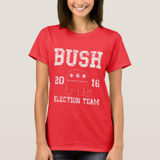 T-shirt Équipe 2016 d'élection de Jeb Bush