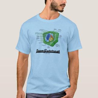 T-shirt Équipe Autotroph (biologie cellulaire de plante)