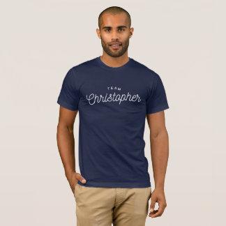 T-shirt Équipe Christopher