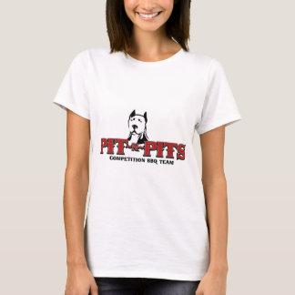 T-shirt Équipe de BBQ de concurrence de Puits-n-Puits
