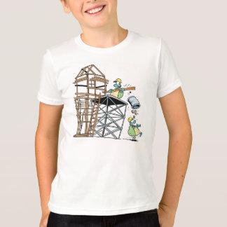 T-shirt Équipe de construction de tortue de marais