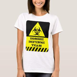 T-shirt Équipe de défense de zombi