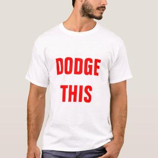 T-shirt Équipe de Dodgeball de ganses