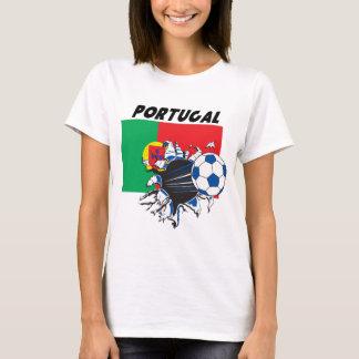 T-shirt Équipe de football de football du Portugal