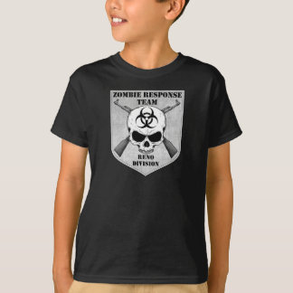 T-shirt Équipe de réponse de zombi : District de Reno