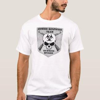 T-shirt Équipe de réponse de zombi : District de Richmond