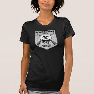 T-shirt Équipe de réponse de zombi : District d'Oakland