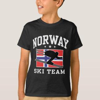 T-shirt Équipe de ski de la Norvège