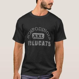 T-shirt Équipe de sports des chats sauvages de Schrodinger