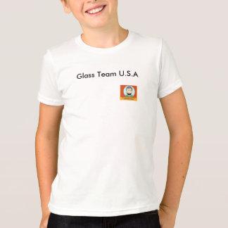 T-shirt Équipe en verre Etats-Unis