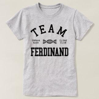 T-shirt Équipe noire orpheline Ferdinand