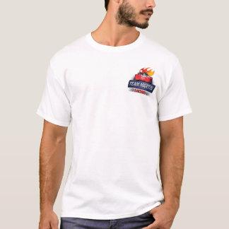 T-shirt Équipe officielle Martin emballant la chemise