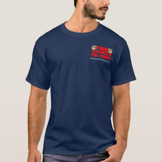 T-shirt Équipe potable avec un problème de BBQ