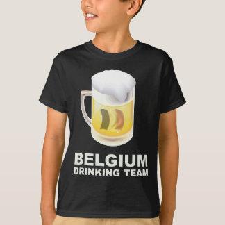 T-shirt Équipe potable de la Belgique