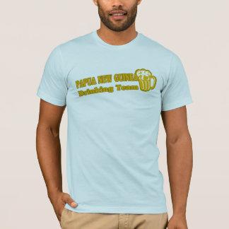 T-shirt Équipe potable de la Papouasie-Nouvelle-Guinée