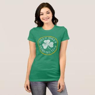 T-shirt Équipe potable irlandaise de Dilly Dilly