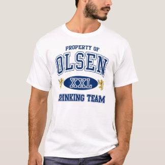 T-shirt Équipe potable norvégienne d'Olsen