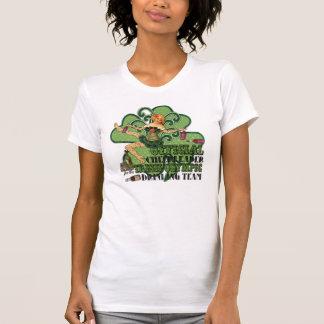 T-shirt Équipe potable olympique irlandaise de pom-pom
