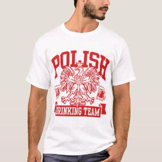 T-shirt Équipe potable polonaise