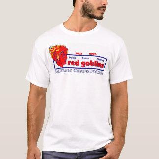 T-shirt équipe rouge de lutins