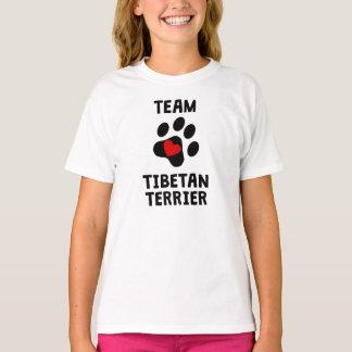 T-shirt Équipe Terrier tibétain