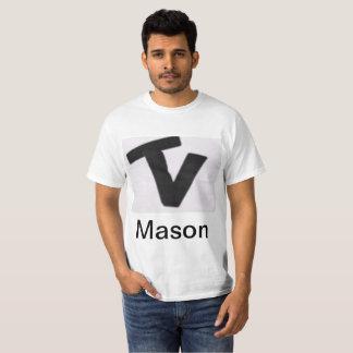 T-shirt Équipe Vlog de chemise de maçon et de Cody