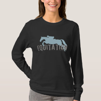 T-shirt équitation