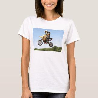 T-shirt Équitation croisée de moteur