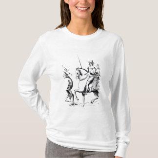 T-shirt Équitation de Mme Jane Lane avec le Roi Charles II