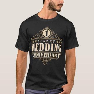 T-shirt ęr Anniversaire de mariage (mari)