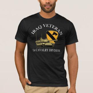 T-shirt ęr Réservoir de vétérinaire de Cav Irak