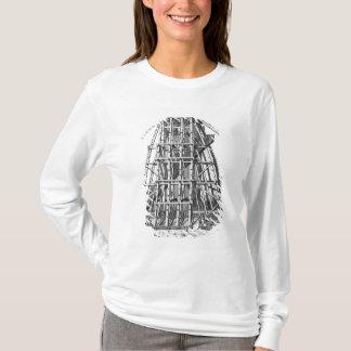 T-shirt Érection de l'obélisque égyptien antique