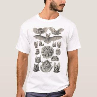 T-shirt Ernst Haeckel - chauves-souris de Chiroptera