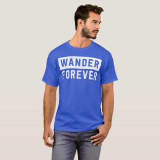 T-shirt Errent pour toujours l'amusement d'aventure