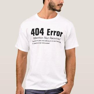 T-shirt Erreur 404