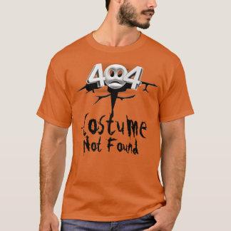 T-shirt Erreur 404 : Costume non trouvé