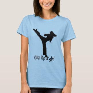T-shirt Éruptions comme une fille