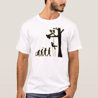 T-shirt Escalade d'arbre